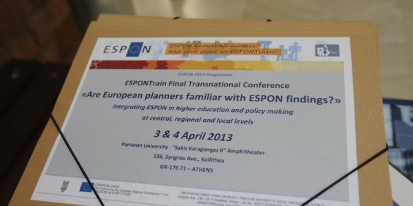 ESPONTrain Final Transnational Conference